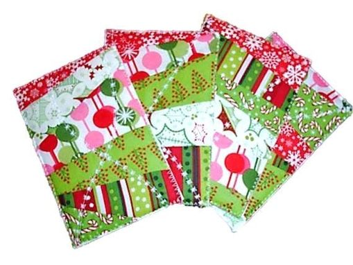Custom Made Quilted Postcards