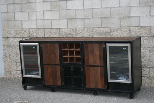 Buy A Handmade Reclaimed Wood Liquor Cabinet Beverage