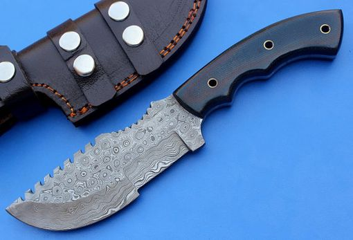 Custom Made Ht-13 Tracker / Camping / Hunting / Survival / Tool / Damascus / Hand Made