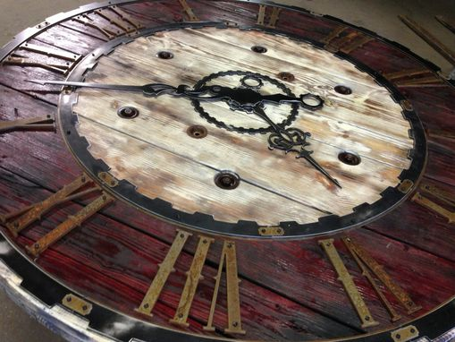 Custom Made Large Steampunk Clock