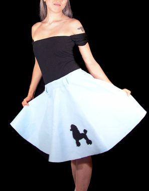 Custom Made Custom Retro Poodle Skirts 50'S Sock Hop Circle Skirts Adult And Kids Sizes Costumes