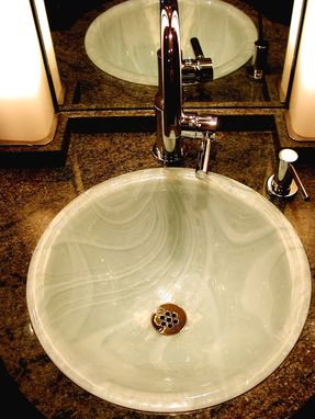 Custom Made Baroque Pearl Sink