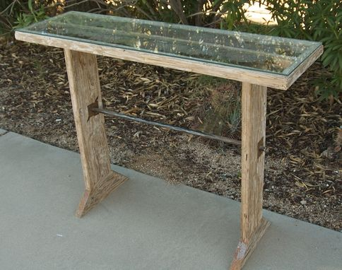 Custom Made Re Claimed Wood & Metal Farm House Table