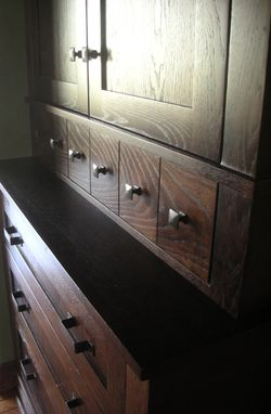 Custom Made Oak Dining Chest