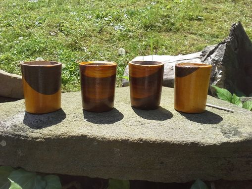 Custom Made Hand Turned Shot Glasses