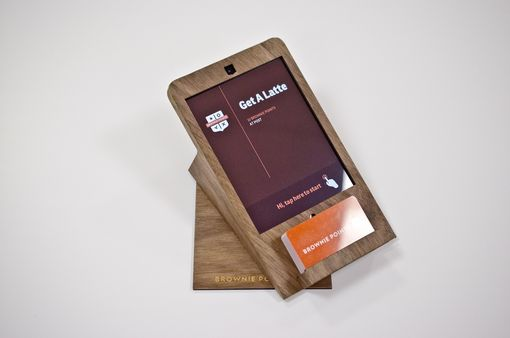 Custom Made Ipad Mini Storefront Display Stand