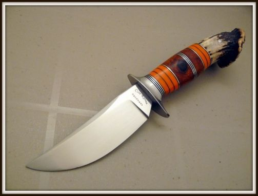 Custom Made Scagel Style Hunting Knife