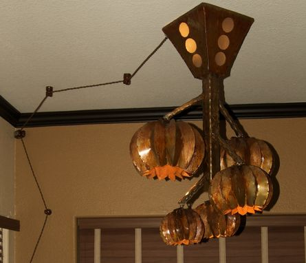 Custom Made Rustic Chandelier