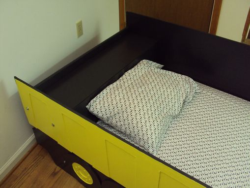 Buy A Hand Crafted Dump Truck Twin Kids Bed Frame
