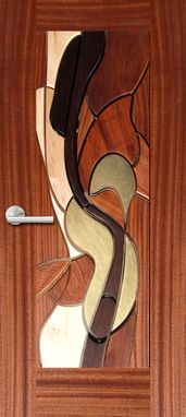 "Custom Made ""Cello Lady"" Decodoor™"