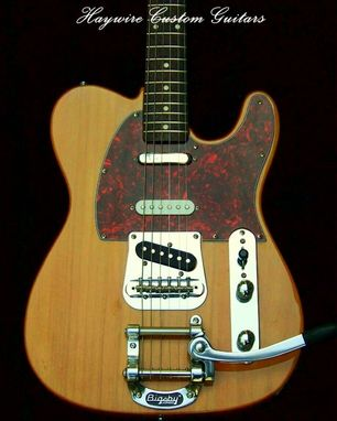 Custom Made Haywire Custom Nashville Bigsby Telecaster Style Guitar