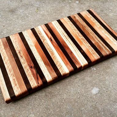 Custom Made Oak & Black Walnut Cutting Board