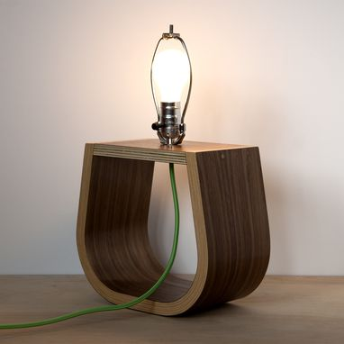 Custom Made Michigan Left Table Lamp