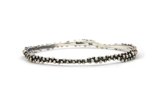Custom Made Morning Dew Bangle In Sterling Silver