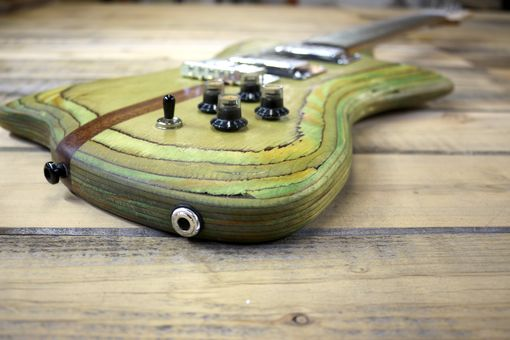 Custom Made Custom Guitars From Reclaimed Materials