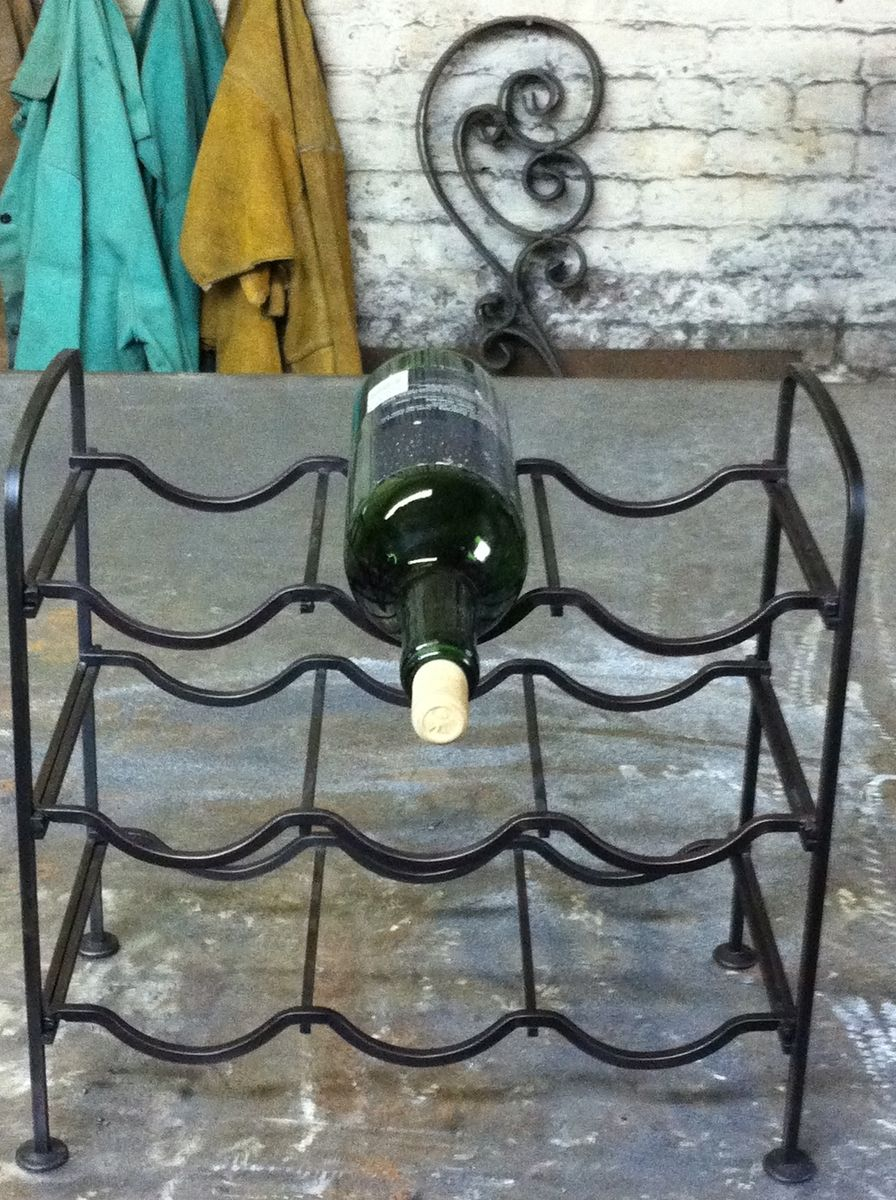 rack inside glass with holder decor bottle bottles proportions three wrought mount mounted iron racks wall wine x