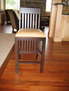 Custom Made Wenge Barstool