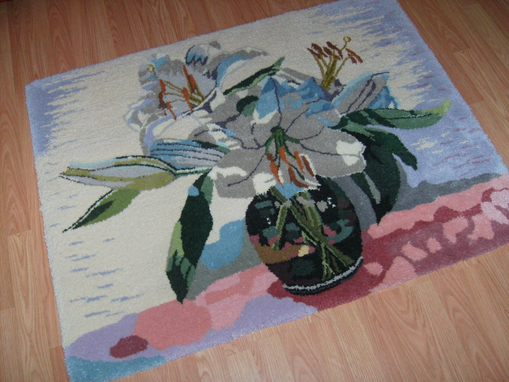 Custom Made Any Design Custom Wool Area Rug