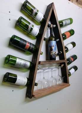 Custom Made Steeple Og - Barrel Stave Wine Rack