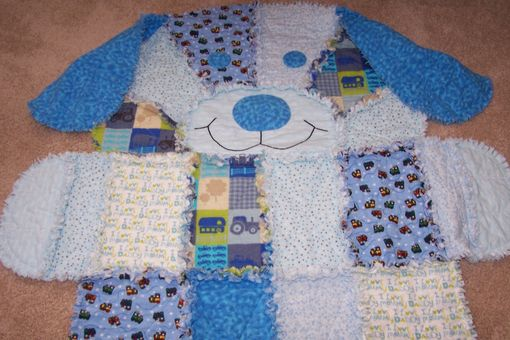 Custom Made Love The Little Dog Baby Blanket!