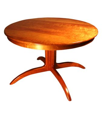 Custom Made Round Pedestal Table