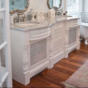 Custom Bathroom Cabinetry CustomMadecom - Bathroom vanities raleigh