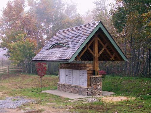 Custom Made Catawba Falls Log Main Entry ~ Black Mountain, Nc