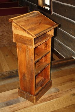 Custom Made Chapel Pulpit/Lecturrn