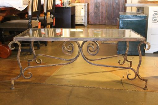 Custom Made Corsican Iron Table