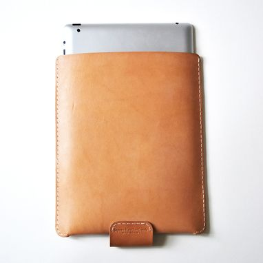 Custom Made Carved Leather Ipad Sleeve (With Jepsen Leathergoods)