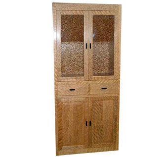 Custom Made Solid Wood Cherry Cabinet