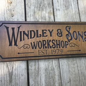 Rustic Hand Made Vintage Wooden Sign Personalized Coffee House Retro Sign