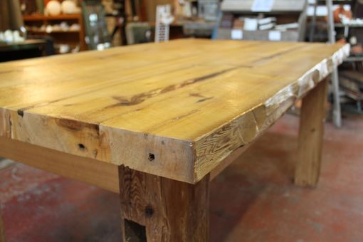 Custom Made Large Harvest Table