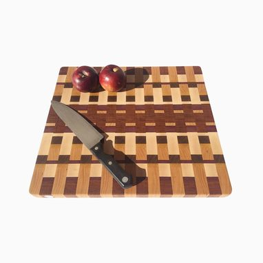 Custom Made Large End Grain Cutting Board