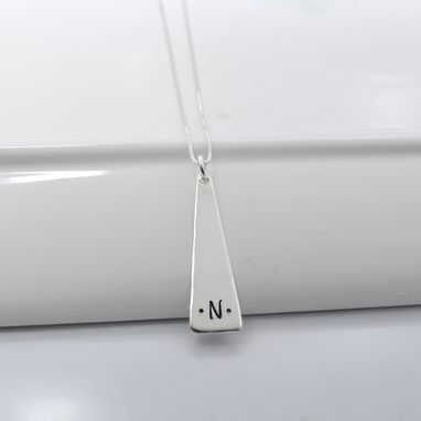 Custom Made Modern Initial Necklace