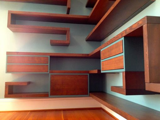 Custom Made The Shelf - Ishly Floating Office