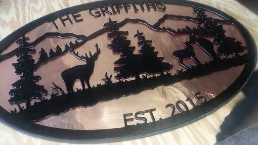 Buy Hand Made Custom Cut Metal Signs Made To Order From