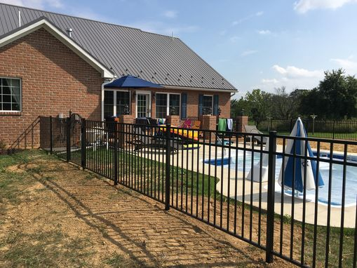 Custom Made Pool Fence
