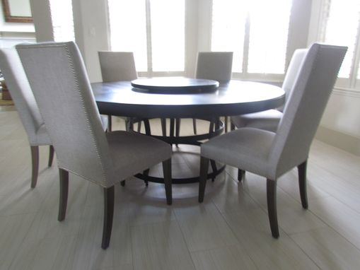 Custom Made Round Dining Tables Of Any Size Or Wood