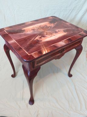 Custom Made Queen Anne Side Table