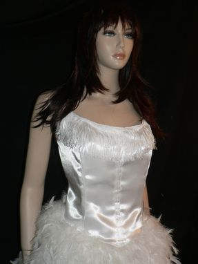 Custom Made Once Upon A Time Snow White Feather Gown
