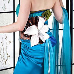 Custom Made Custom Bespoke Evening Gown