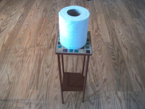 Custom Made Toilet Paper Roll Holder