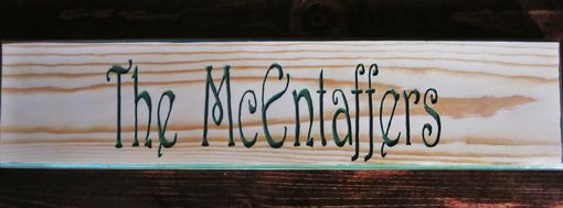 Custom Made Family Name Signs And More