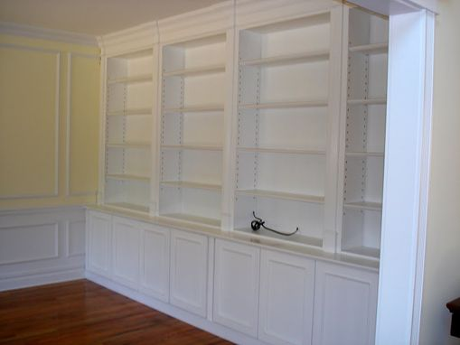 Custom Made Built In Cabinetry