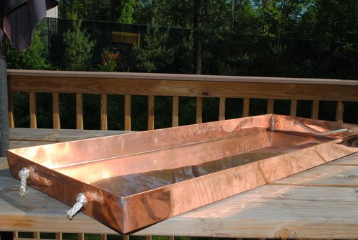 Custom Made Copper Planter Tray