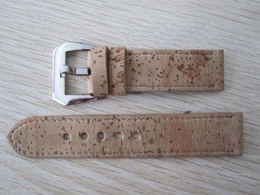 Custom Made Cork Watch Straps