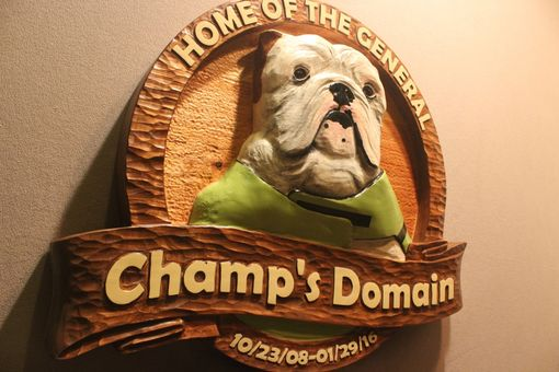 Custom Made Dog Signs | Dog Memorials | Dog Carvings | Pet Signs | Pet Memorials | Pet Carving