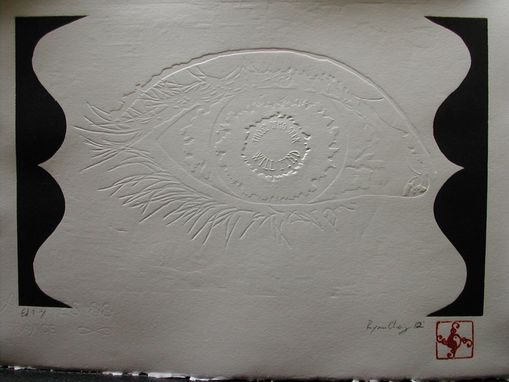 Custom Made Embossed Print Onto Arches 88