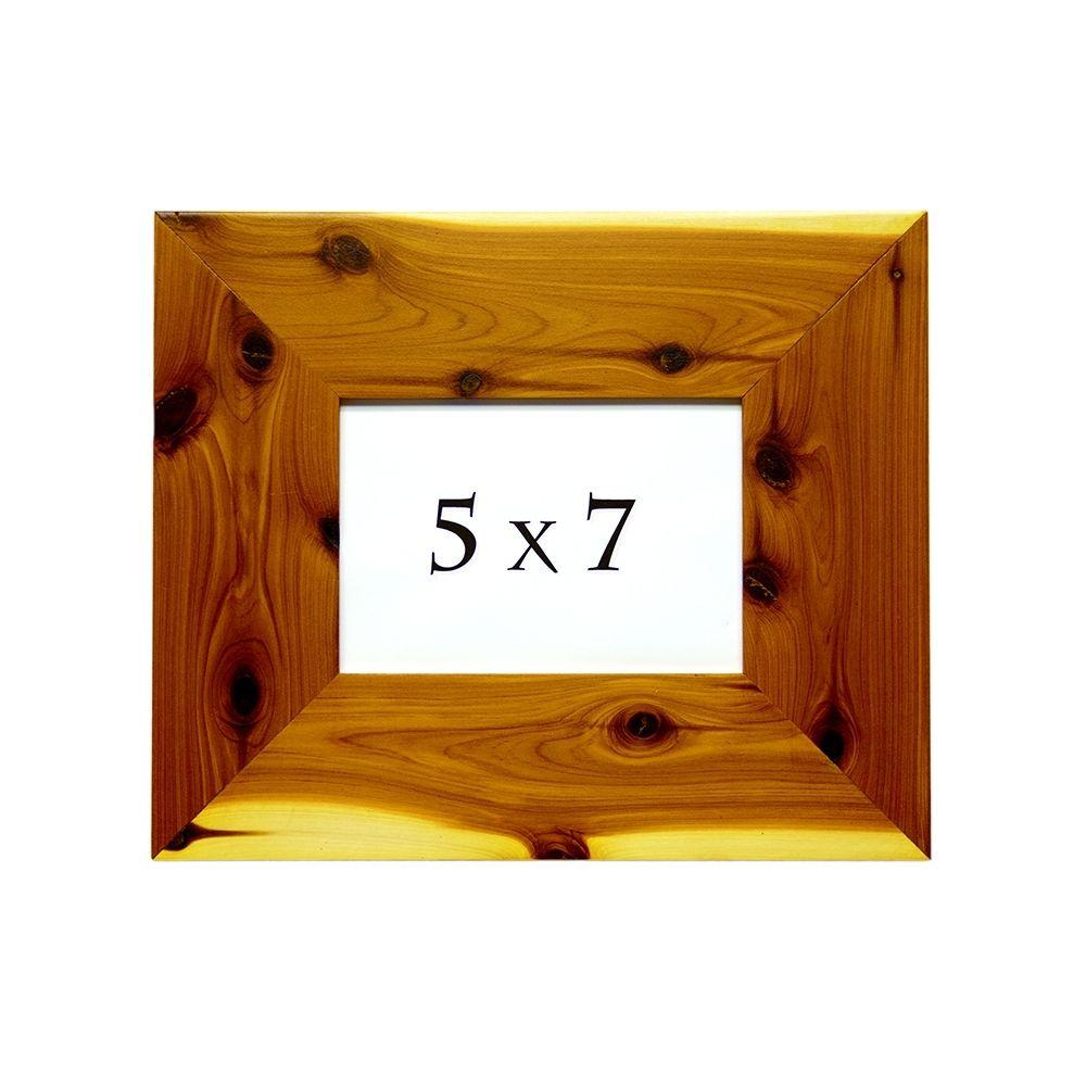 Custom frames custommade handmade cedar picture frame red cedar photo frame aromatic cedar custom picture frame jeuxipadfo Image collections
